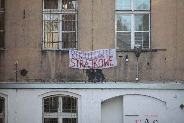 Strajk pracowników MOPS