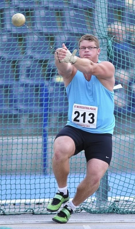 Paweł Fajdek (Agros Zamość) jest jednym z kandydatów do wyjazdu na igrzyska olimpijskie w Londynie