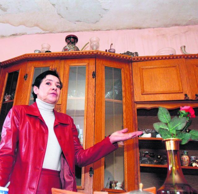 Ewa Łajs musi wyremontować i ogrzać zalane mieszkanie