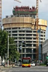 Wrocław: Sky Tower ma już 64 m (ZDJĘCIA)