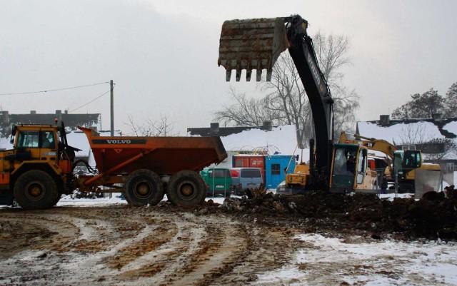 W Zabrzu trwa budowa DTŚ wzdłuż ul. Wolności na Zaborzu, od granicy z Rudą Śląską
