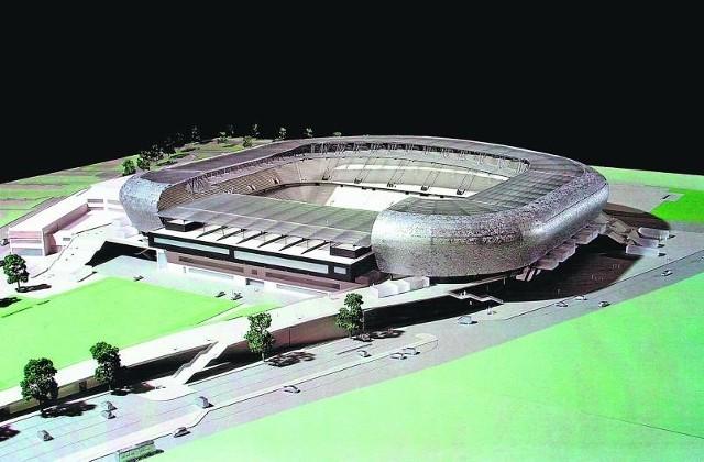 Stadion w Lwowie jest dopiero w powijakach