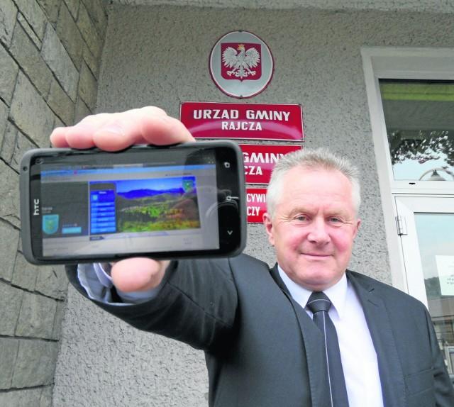 Nowe technologie posłużą promocji gminy - mówi wójt Rajczy