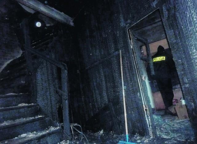 Policja zatrzymała 23-latka, który miał spowodować ten pożar