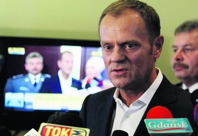 Donald Tusk zapewnił w Gdańsku, że  zrobi wszystko, by skutecznie zwalczyć dopalacze.