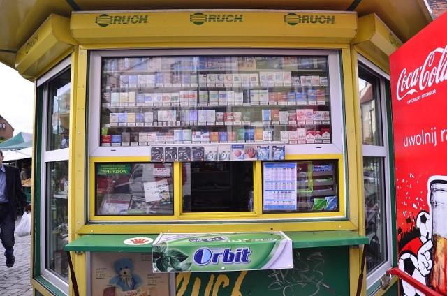 W niektórych kioskach pojawiły się nawet nowe taryfy