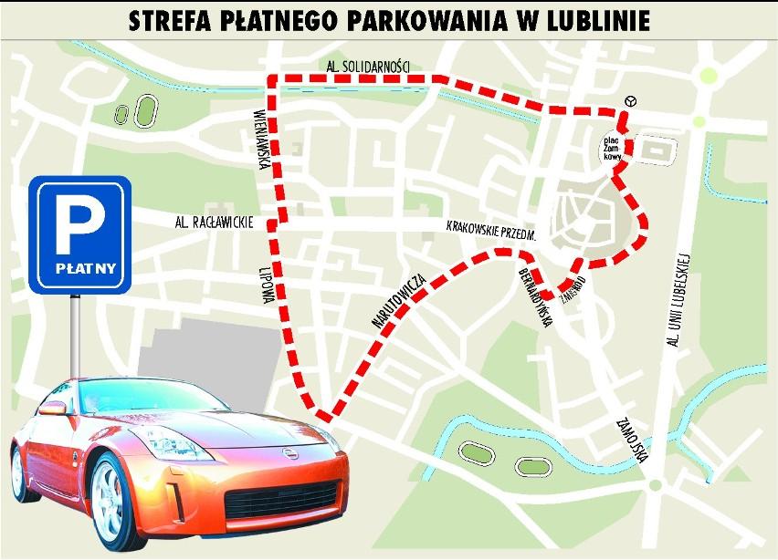 Miasto wybrało operatorów strefy płatnego parkowania w Lublinie
