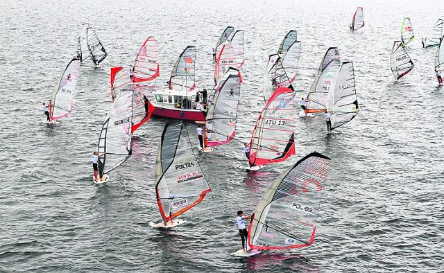 Po raz pierwszy w kurorcie jednocześnie rywalizowali kitesurferzy i windsurferzy