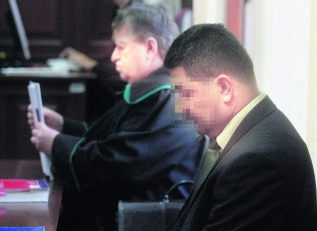 Dariusz M. wysłuchał wyroku ze spuszczoną głową