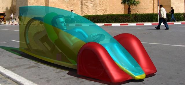 Elvic. Pojazd wystartuje w konkursie Shell Eco-Marathon w kategorii Prototype. Pojazd będzie napędzany energią elektryczną.