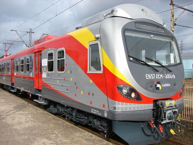 Nowy zmodernizowany pociąg na trasie Łódź - Sieradz