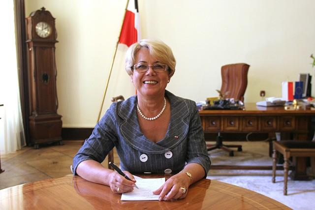 Jolanta Chełmińska otrzymała od premiera nominację na wojewodę łódzkiego.