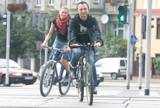 Łukasz Pałka ze swoją dziewczyną Joasią trenują przed wyprawą na Czarny Ląd