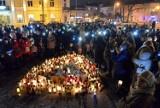 Światełko wsparcia - Murem za Owsiakiem na kieleckim Rynku [WIDEO, zdjęcia]