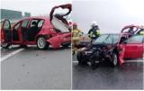 Śmiertelny wypadek na autostradzie A1 pod Włocławkiem [zdjęcia]