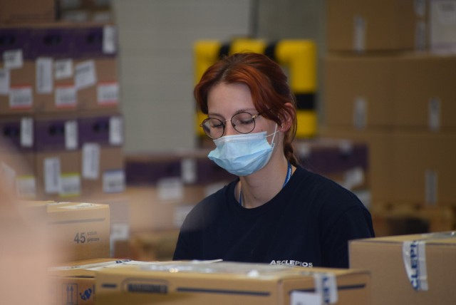 Centrum logistyczne firmy Asclepios w Sieradzu uroczyście otwarte