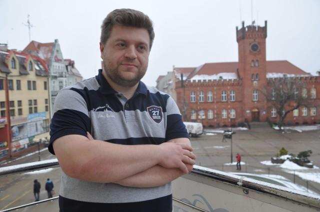 """Łukasz """"bronx"""" Chmielewski, twórca forum szczecinek.org"""