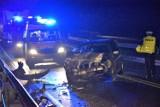Zderzenie 3 aut na obwodnicy w Sławnie, dwie osoby ranne [ZDJĘCIA, WIDEO] - aktualizacja