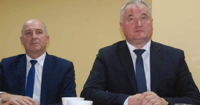 Starosta Witold Kowalewski i jego zastępca Artur Łuniewski opowiedzieli się za rozbudową DK8