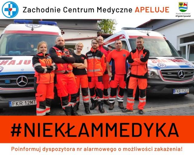 Ratownicy z Krosna Odrzańskiego i Gubina przypominają o akcji Nie kłam medyka.