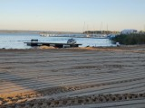 Remont kąpieliska w Dąbiu. Trwa przebudowa. Jak idą prace? Zobaczcie zdjęcia