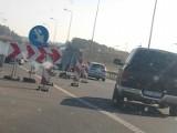 Autostrada A1 odcinek Pyrzowice - Piekary Śląskie: trwają prace remontowe