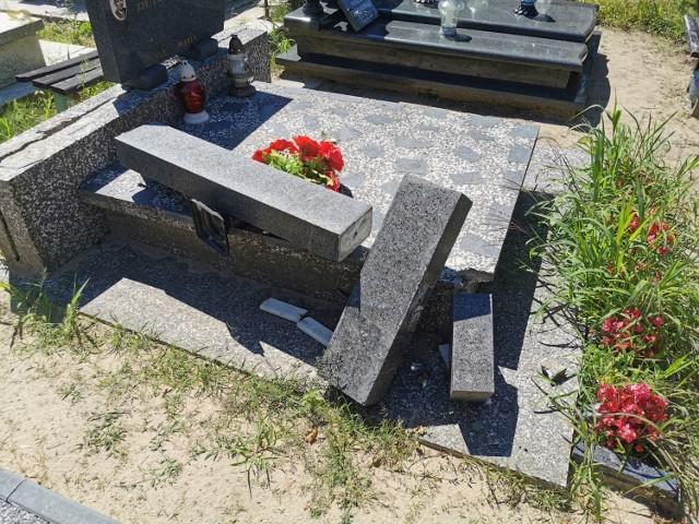 Mieszkańcy Włocławka zastanawiają się, co w ostatnich dniach wydarzyło się na cmentarzu komunalnym przy al. Chopina