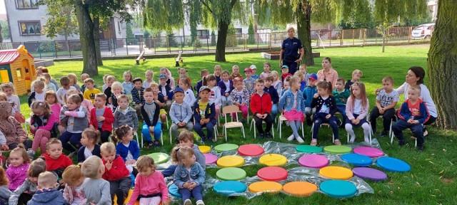 Policjanci z Konina regularnie odwiedzają okoliczne szkoły i przedszkola