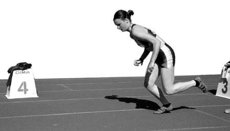 Martyna Noszczyk bardzo dobrze wypadła zarówno w biegu na 100 m, jak i sztafecie 4x100 m. fot. KRZYSZTOF SULIGA
