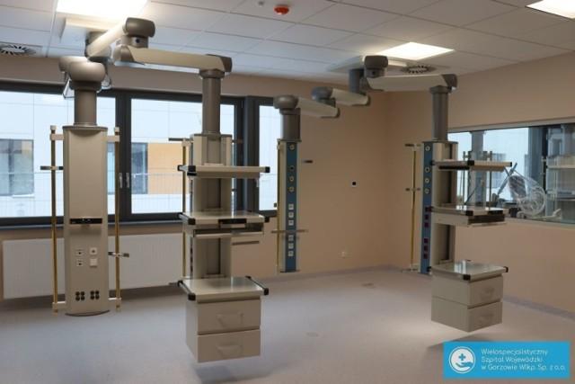 Prawie gotowy jest już Oddział Intensywnej Opieki Medycznej przy gorzowskim szpitalu. Budowa nowego obiektu kosztowała ponad 40 milionów złotych.