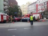 Wrocław. Zobacz zdjęcia z wypadku na ul. Jedności Narodowej