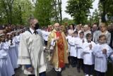 Pierwsza Komunia Święta w Skierniewicach w Kościele Świętego Jakuba ZDJĘCIA