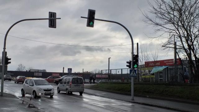 Sygnalizacja świetlna została uruchomiona w ostatnich dniach stycznia