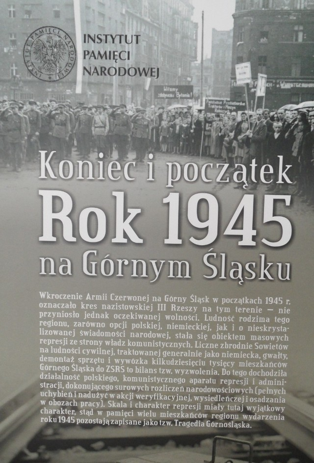 Rok 1945. Koniec i początek