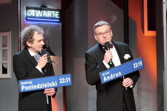Gospodarzami programu Dzięki Bogu już weekend będą Artur Andrus i Andrzej Poniedzielski