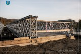 Nowy Sącz. Most tymczasowy na ul. Kamiennej będzie otwarty w przyszłym tygodniu. Koniec z uciążliwymi dojazdami [ZDJĘCIA]