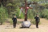 Krzyż w miejscu niemieckiego stalagu w Czarnem koło Szczecinka [zdjęcia]
