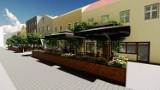 Bochnia. Przy Rynku w Bochni powstaną ogródki, będzie można zjeść obiad i wypić kawę na świeżym powietrzu [WIZUALIZACJE]