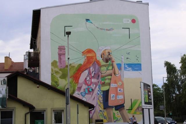 Skrzyżowanie ulic Krakusa i Wandy i Lechickiej; autor: Donut Studio