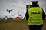 Policjanci wykorzystali drona w swoich działaniach na DK 91