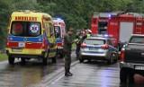 Stalowa Wola. Sprawca śmiertelnego wypadku, w którym zginęło małżeństwo, wciąż jest w szpitalu. Czy trafi do aresztu w Krakowie?