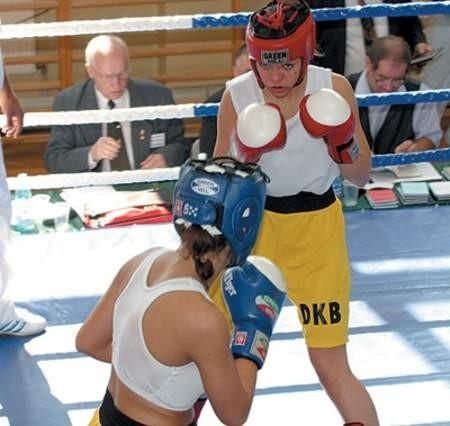 Bojana Libiszewska (czerwony kask) i Karina Kopińska należą do najlepszych zawodniczek w kraju.  Olgierd Górny