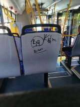 Nowe autobusy miejskie nie umknęły uwadze wandali