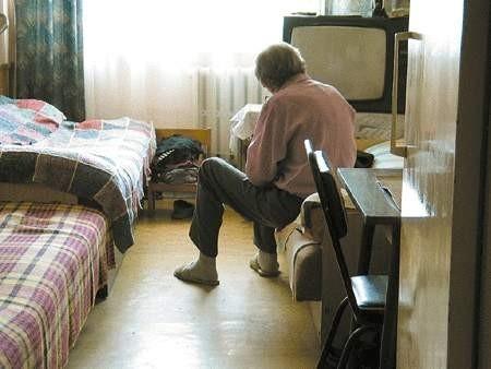 Tadeusz Ertman stał się nieformalnym gospodarzem i dobrym duchem domu dla bezdomnych.