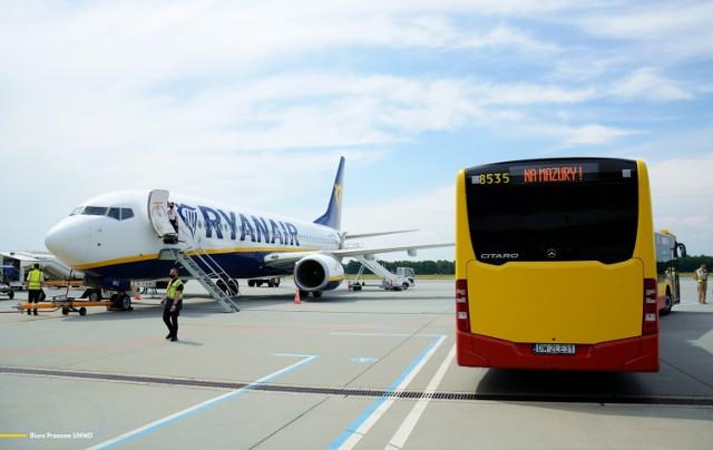 Ruszyły połączenia lotnicze Wrocław-Mazury