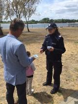 Dzielnicowe apelowały o rozsądny i ostrożny wypoczynek nad wodą