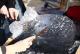 IV Konkurs Rzeźby Lodowej - robili lodową marzanne [ZDJĘCIA]