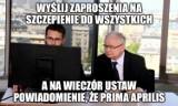 Prima aprilis Polacy! Czyli MEMY o wpadce rządu i zamieszaniu w sprawie szczepień 40-latków 29.04.2021