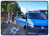 Dwa wypadki z udziałem rowerzystów w Pruszczu Gdańskim w jednym dniu. Poszkodowani w szpitalu!