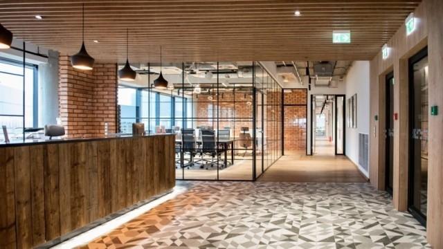 Wnętrze biura coworkingowego Chillispaces.com w Krakowie